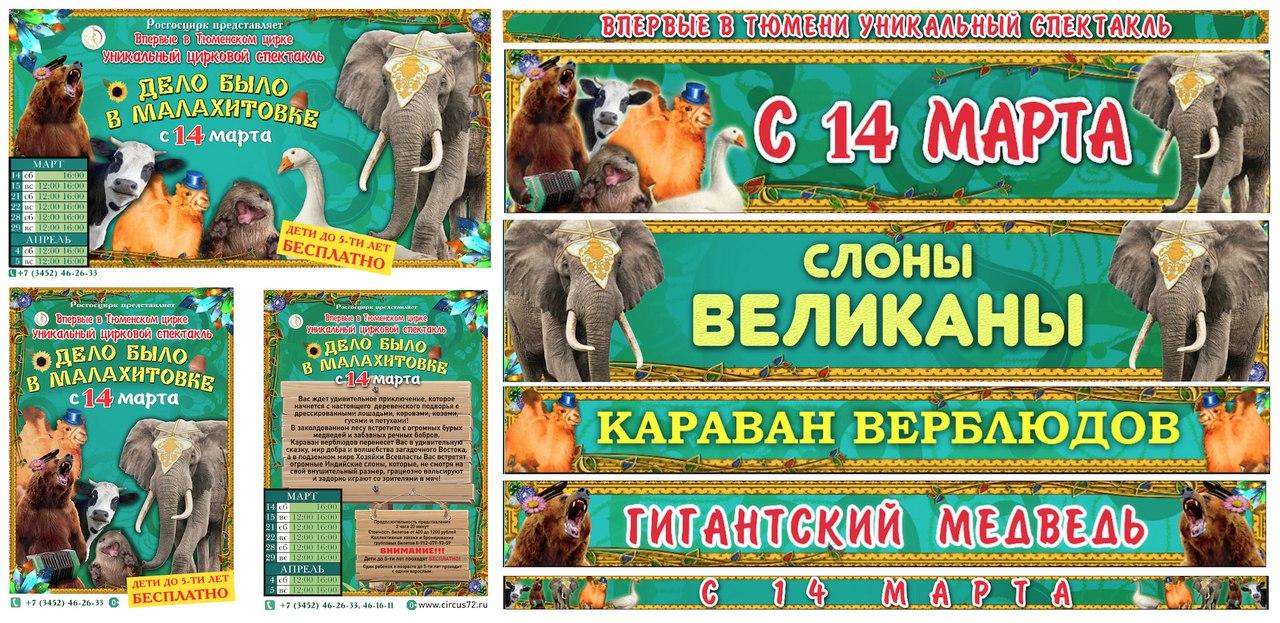 Рекламный аутсорсинг Пермского цирка